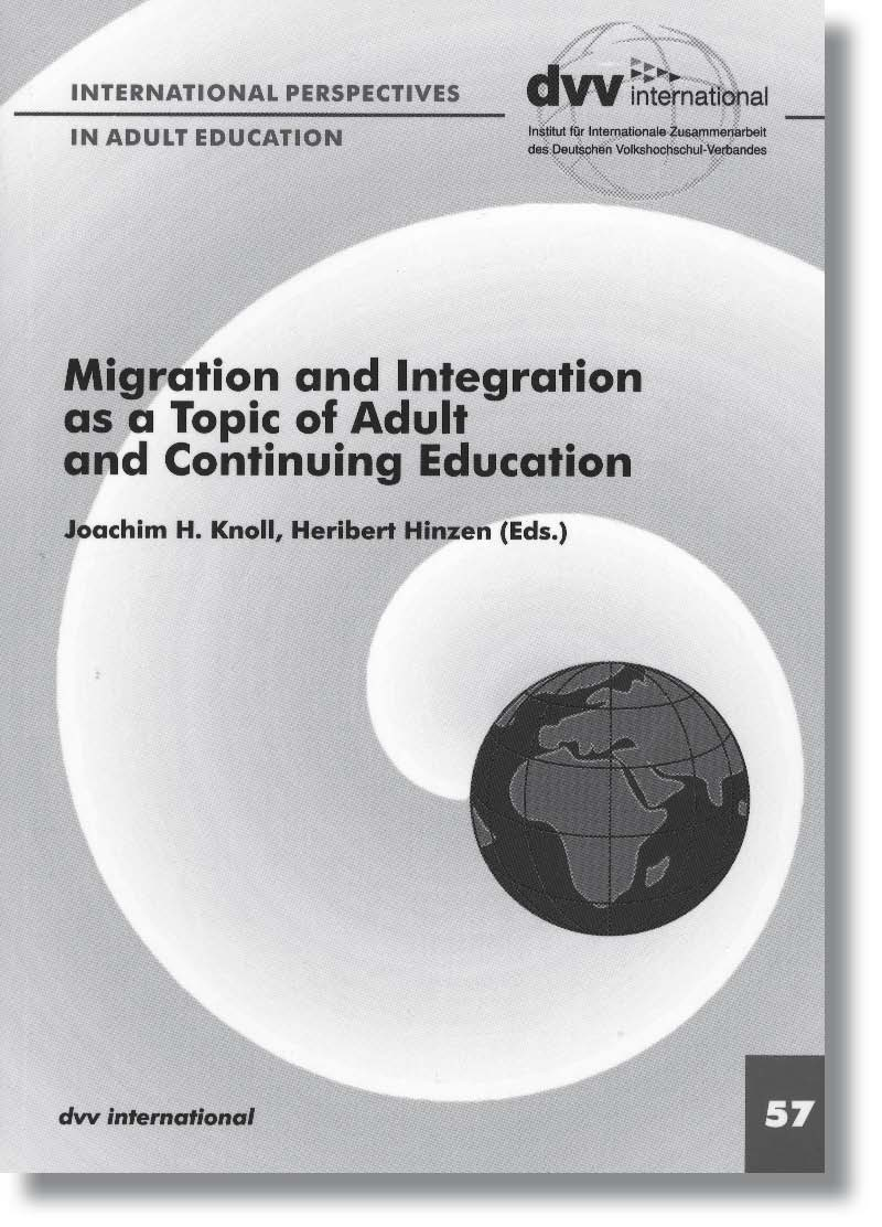 Cover Migration and Integration as a Topic of Adult and Continuing Education - 57