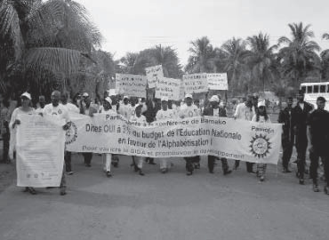 Caravana en África Occidental