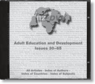 Adult Education and Development