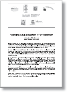 Financing Adult Education