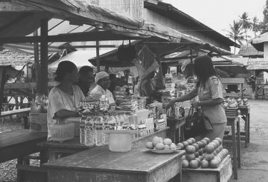 Market in Indonesia