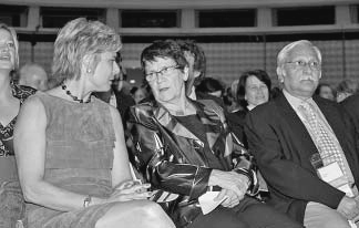 H.R.H. Princess Laurentien of the Netherlands, Rita Süssmuth, Rajesh Tandon