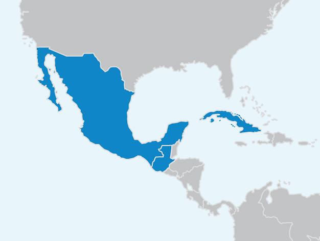 Carte Interactive Amerique Centrale.Dvv International Amerique Central Et Cuba